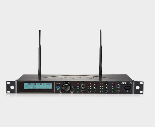 JTS R-4 4-CH Diversity UHF Wireless Microphone Receiver (638-674Mhz)