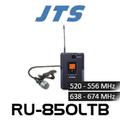 JTS RU-850LTB UHF Beltpack Transmitter With Lapel Mic