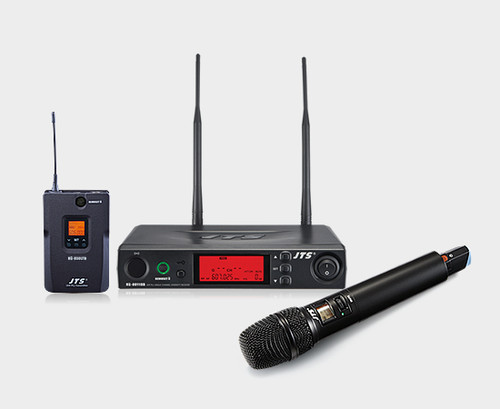 JTS 8011DB Single Channel Diversity UHF Wireless Microphone System