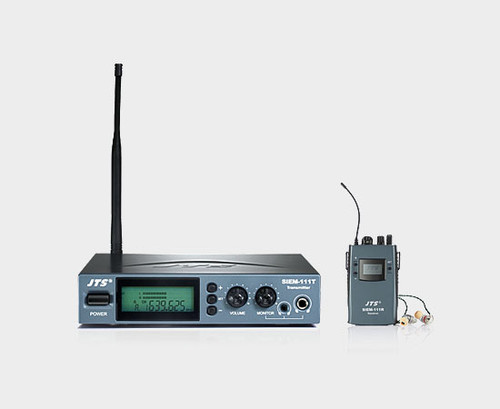JTS SIEM-111 Single Channel Wireless In-Ear Monitor Stereo System