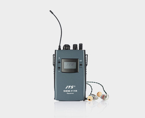 JTS SIEM-111R UHF Stereo In-Ear Monitor Receiver