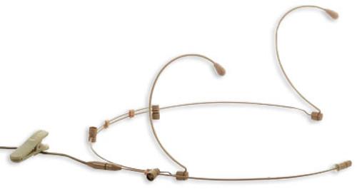 JTS CM-825i Dual Ear Hook Sub-Miniature Microphone (4P Mini-XLR)