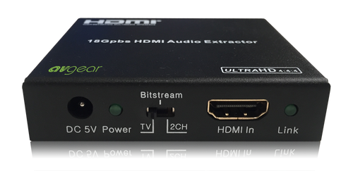 AVGear AVG-HDE2 HDMI Audio De-Embedder