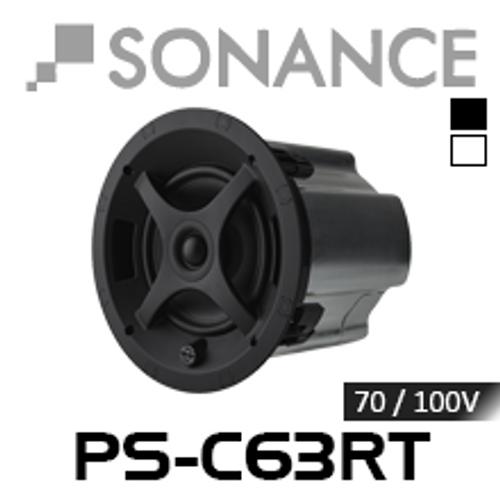"""Sonance PS-C63RT 6.5"""" 70/100V 8 Ohm In-Ceiling Speaker (Each)"""