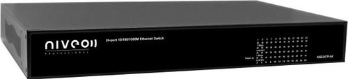 Niveo NGS24TP-AV 24 Rear Port Gigabit Ethernet Switch