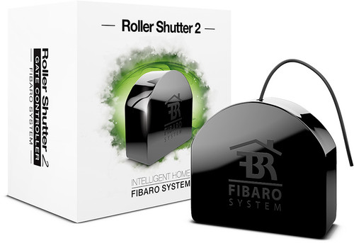 Fibaro Z-Wave Roller Shutter 2 - Motorised Shades and Blinds