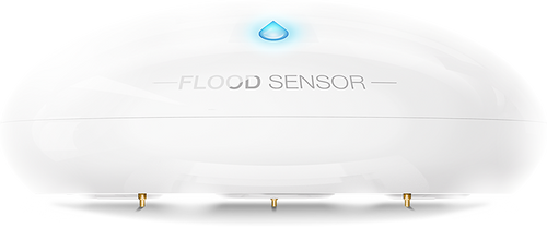 Fibaro Z-Wave Flood Sensor with Built-In Temperature Sensor