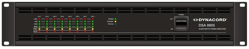 Dynacord DSA 8805 8-Channel 500W Class D 100V Power Amplifier