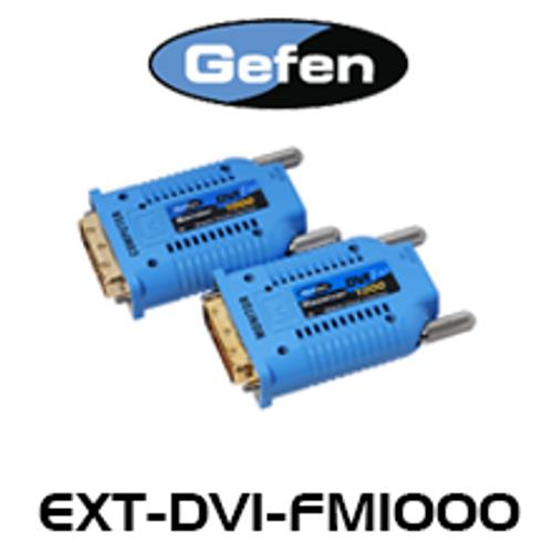 Gefen FM1000 DVI Extender Over Single SC Fiber Optic (up to 1.7km)