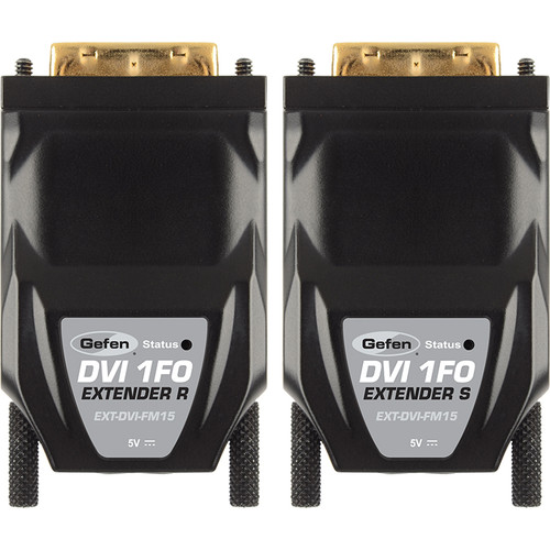 Gefen FM15 DVI Extender Over Single SC Fiber Optic (up to 1km)