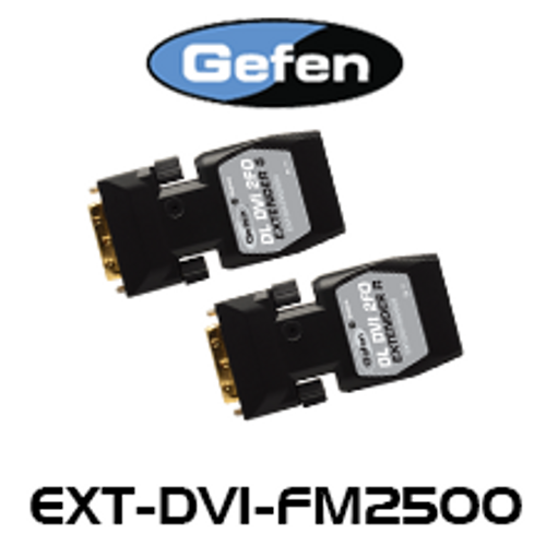 Gefen FM2500 Dual Link DVI Extender Over Two-Strand Fiber Optic (up to 1km)