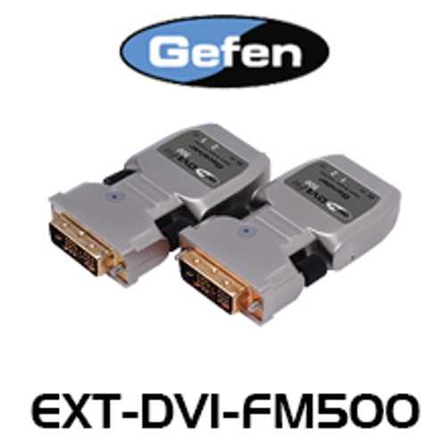 Gefen FM500 DVI Extender Over Two-Strand Fiber Optic (up to 1.5km)