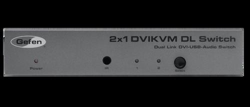 Gefen 2x1 DVI KVM Dual Link Switcher
