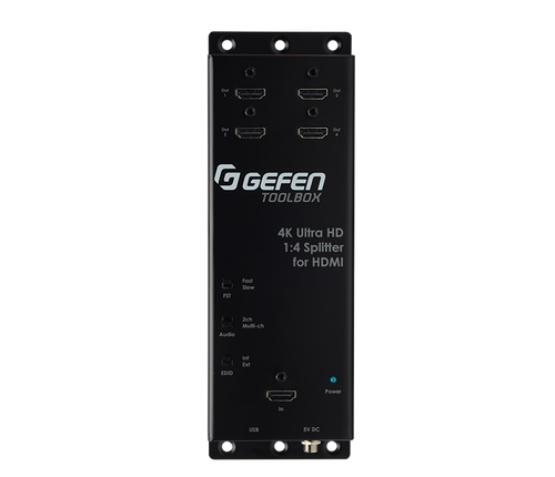 Gefen ToolBox 1:4 4K Ultra HD Splitter for HDMI With Cascading