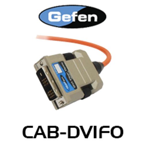 Gefen Single-Link DVI Fiber Optic Integrated Cable (M-M) - 20m