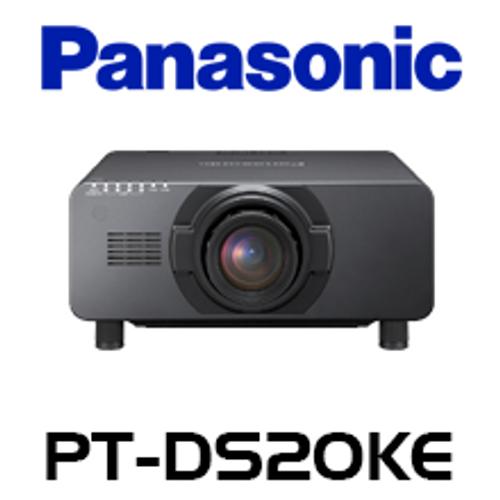 Panasonic PT-DS20K2E SXGA+ 20,000 Lumen Quad Lamp 3-Chip DLP Projector