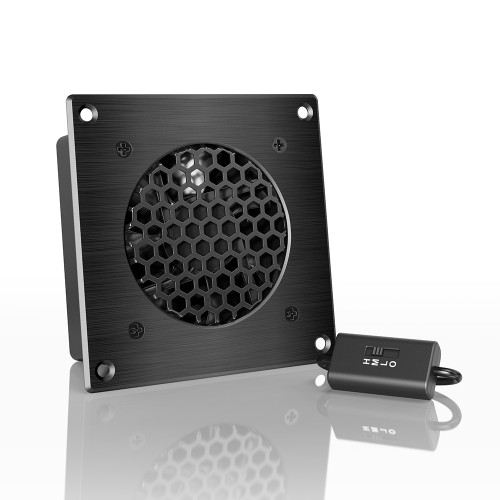 AC Infinity Airplate S1 & S3 80/120mm Airplate AV Cabinet Cooling Fan