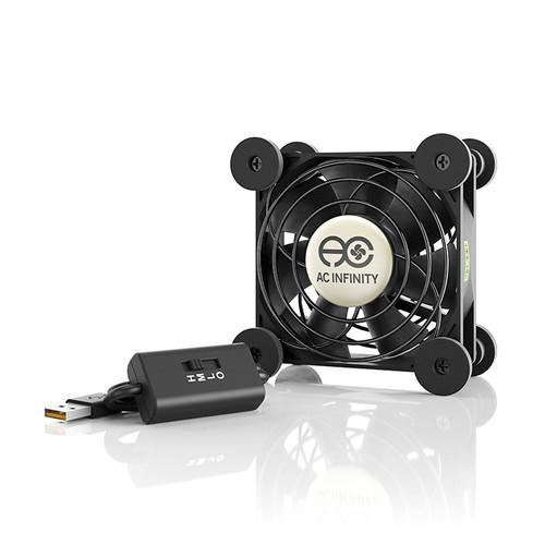 AC Infinity Multifan S1 80mm Quiet USB Cooling Fan