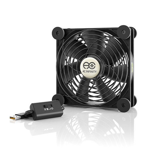 AC Infinity Multifan S3 120mm Quiet USB Cooling Fan