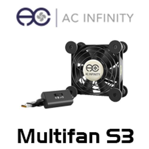 AC Infinity Multifan S3 120mm Quiet USB Cooling Fan