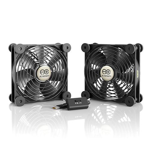 AC Infinity Multifan S7 Dual 120mm Quiet USB Cooling Fan