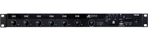 Australian Monitor 60/120/250/500W 1RU Class D Mixer Amplifier