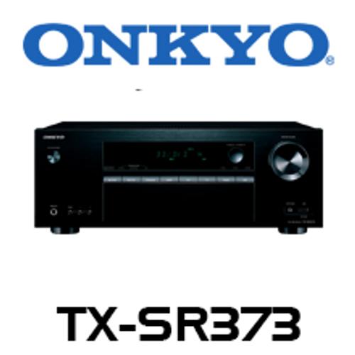 Onkyo TX-SR373 5.1 Channel 4K HDR Ready AV Receiver