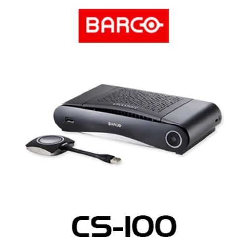 Barco ClickShare CS-100 Stand-Alone Wireless Presentation System