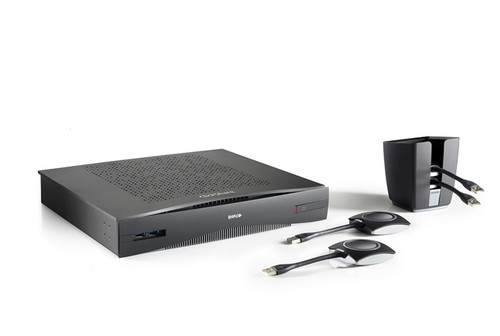 Barco ClickShare CSE-800 8 Simultaneous Wireless Collaboration Presentation System