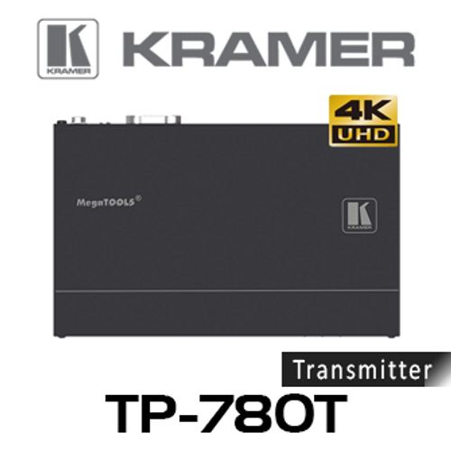 Kramer TP-780T 4K60Hz HDMI to HDBaseT PoE Transmitter With RS-232 & IR (up to 40m)
