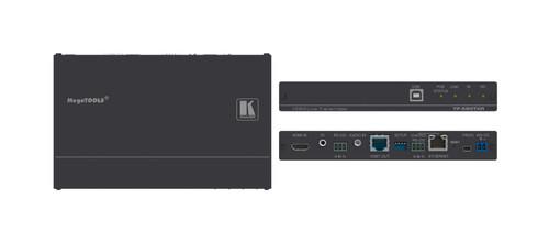 Kramer TP-590TXR 4K60Hz HDMI Over HDBaseT 2.0 PoE Transmitter w/ Ethernet, USB, Audio, RS-232 & IR (100m)