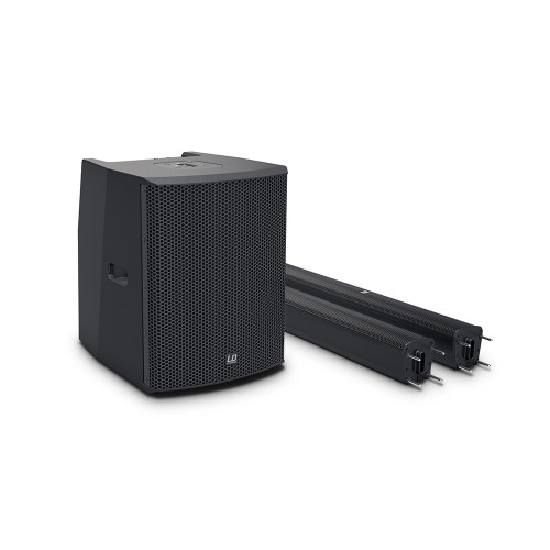 """LD Systems MAUI28 G2 Dual 8"""" 2000W Compact Column PA System w/ Mixer & Bluetooth"""