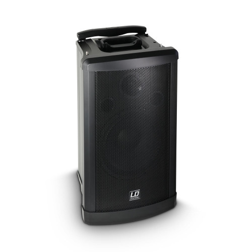 "LD Systems RM102SL RoadMan 10"" Battery Powered Portable Active Slave PA Speaker"