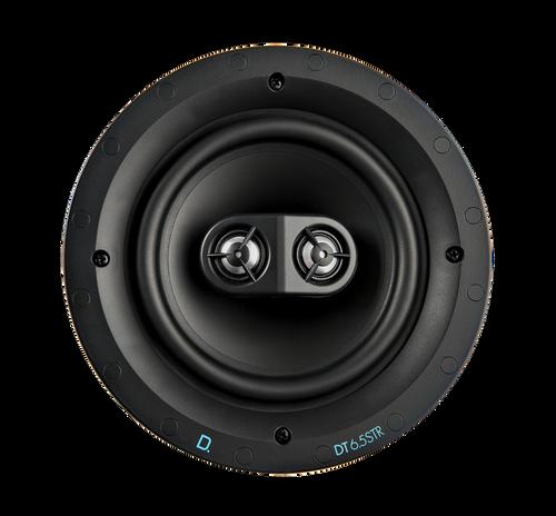 """Definitive Technology Custom Install DT6.5STR 6.5"""" Single Stereo & Surround In-Ceiling Speaker (Each)"""