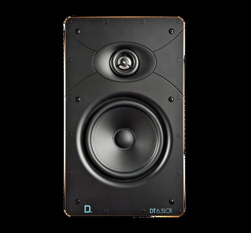 "Definitive Technology Custom Install DT6.5LCR 6.5"" Rectangular In-Wall Speaker (Each)"
