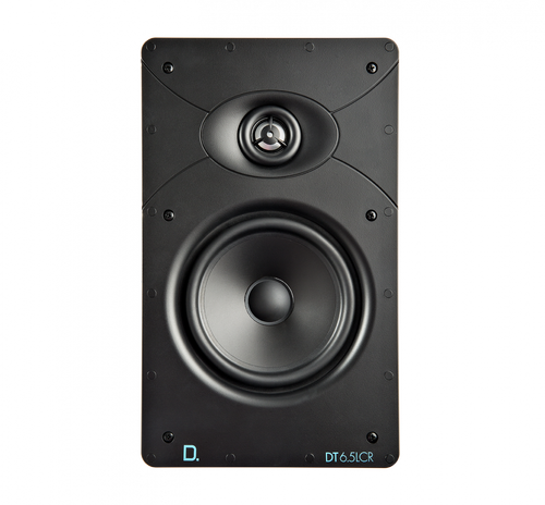 "Definitive Technology Custom Install DT6.5LCR 6.5"" Rectangular In-Wall Speaker (Each)"