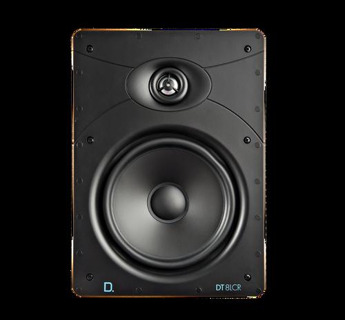 "Definitive Technology Custom Install DT8LCR 8"" Rectangular In-Wall Speaker (Each)"