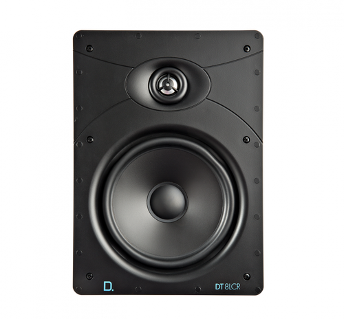 "Definitive Technology Custom Install DT8LCR 8"" Rectangular In-Wall Speaker (Each)"