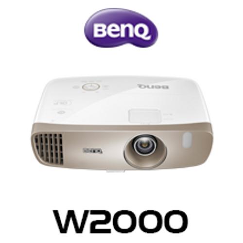 BenQ W2000 Full HD 2000 Lumen Rec.709 3D DLP Home Projector