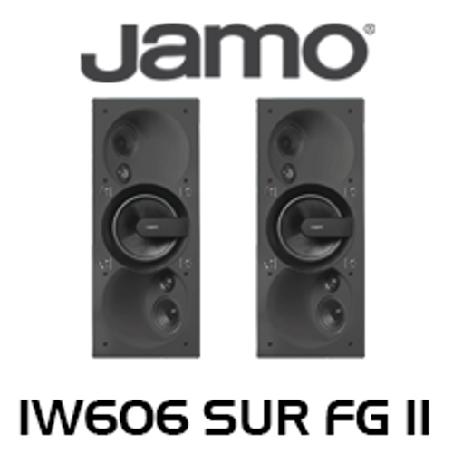 "Jamo IW606 SUR FG II 6.5"" Dipole Surround 3-Way In-Wall Speakers (Pair)"
