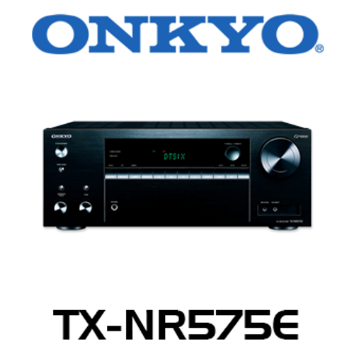 Onkyo TX-NR575E 7.2-Channel DTS:X & Dolby Atmos 4K HDR Network A/V Receiver