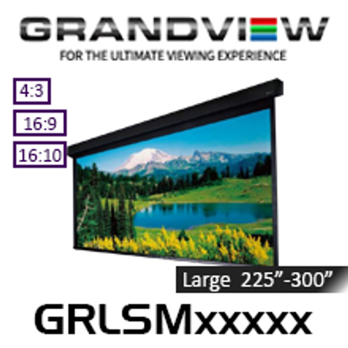 "Grandview Large Stage Series Motorised Projection Screens (225""-300"")"