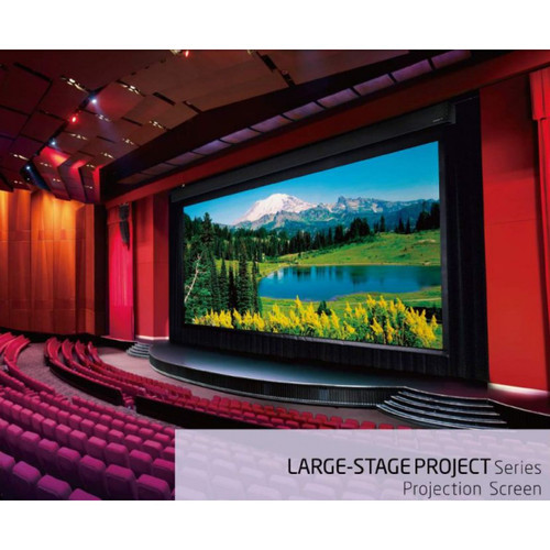 "Grandview X-Large Stage Series Motorised Projection Screens (350"", 400"")"