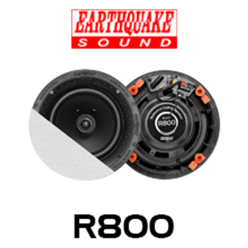 """Earthquake R800 8"""" RCS Reference In-Ceiling Speakers (Pair)"""
