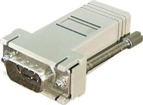 DB9 Male to RJ45 Female Adapter