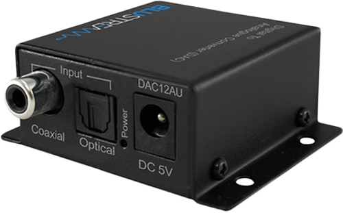 BluStream DAC12AU Digital to Analogue Converter