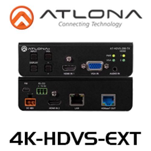 Atlona 4K HDBaseT Kit With 3-Input Switcher, Ethernet, Control & POE