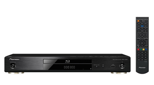 Pioneer BDP-X300 Network 3D Blu-Ray Player with 4K Upscaling & PQLS Jitter Control