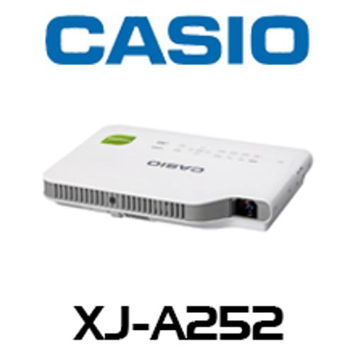 Casio XJ-A252 3000 Lumens WXGA Ultra Portable LED Projector