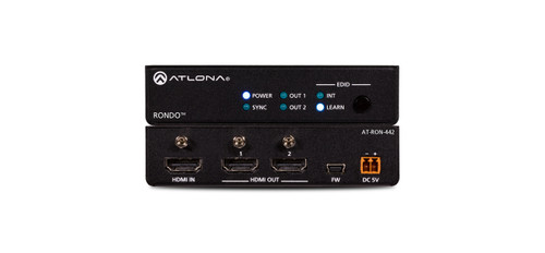 Atlona 4K HDR Two-Output HDMI Distribution Amplifier